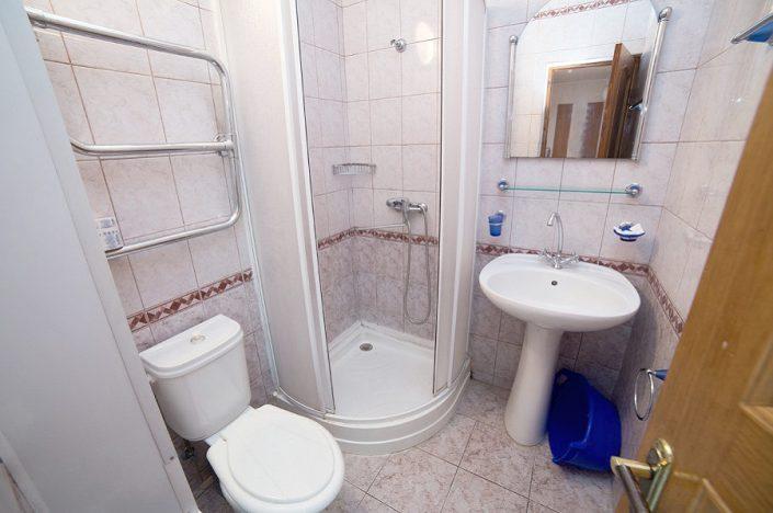 Туалетная комната номера ПК санатория СССР, Сочи, Адлер