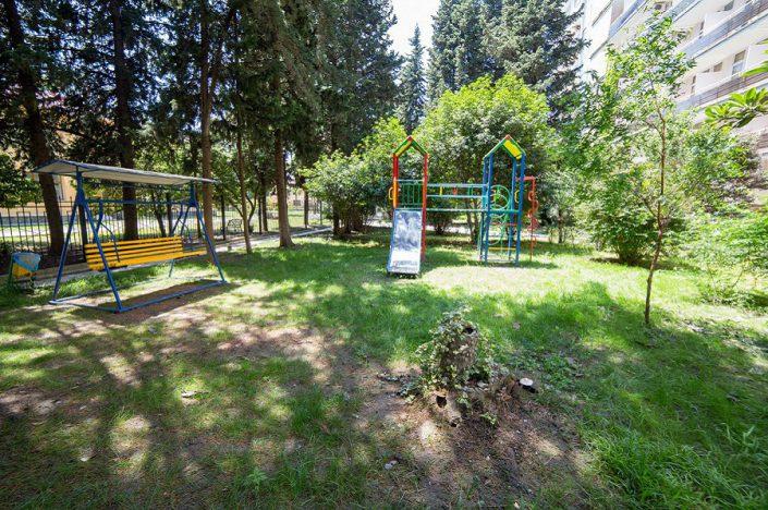 Детская площадка на территории санатория СССР, Сочи, Адлер