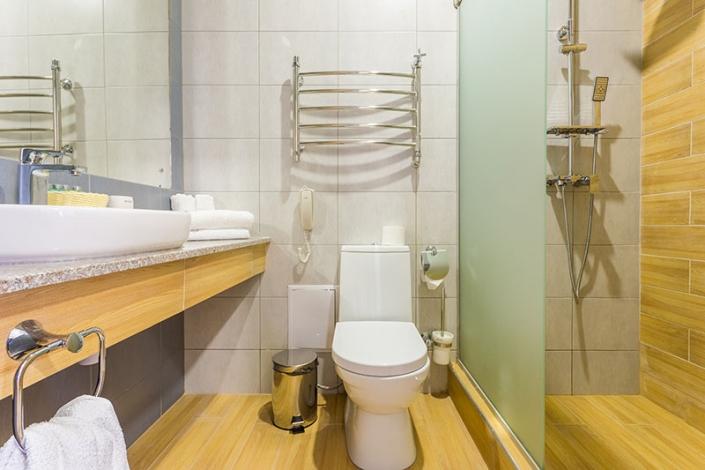 Туалетная комната Семейного номера, Корпус №1, Sunmarinn Resort Hotel
