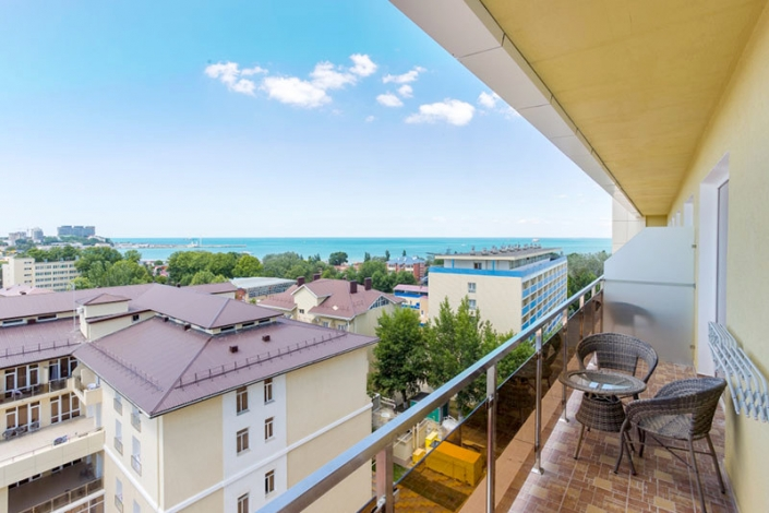 Вид на море, Корпус №1, Sunmarinn Resort Hotel