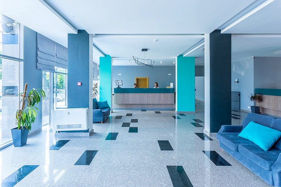 Холл, Корпус №2 Sunmarinn Resort Hotel All Inclusive, Анапа
