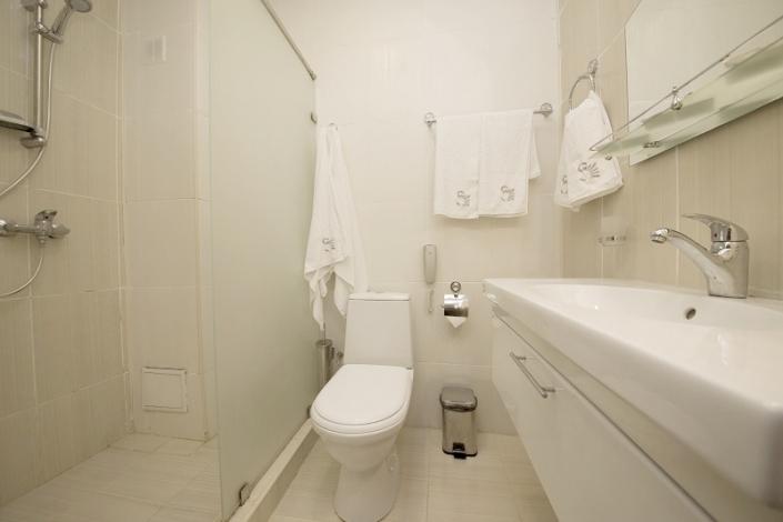 Туалетная комната номера Стандарт двухместный, Корпус №2, Sunmarinn Resort Hotel