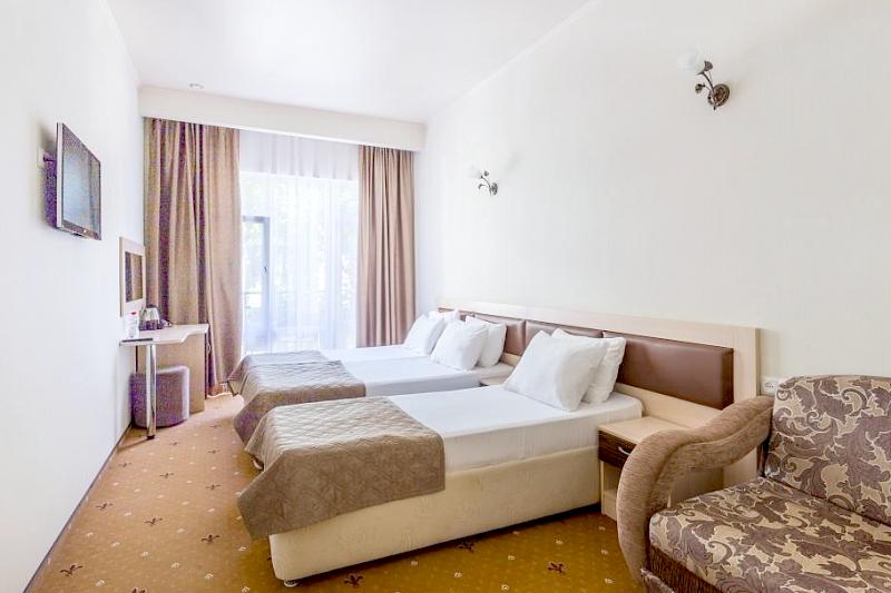 Стандарт трехместный, Корпус №2, Sunmarinn Resort Hotel