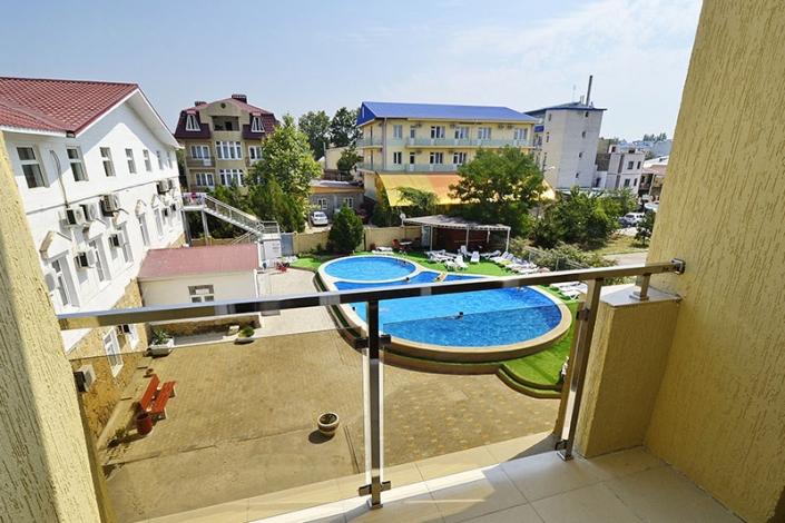 Вид на бассейн, Корпус №2, Sunmarinn Resort Hotel