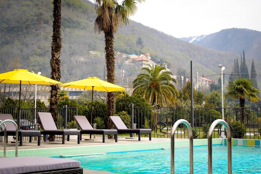Бассейн Sunrise Garden Hotel, Гагра, Абхазия