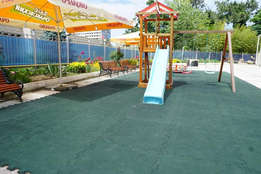 Детская игровая площадка санатория Светлана, Сочи