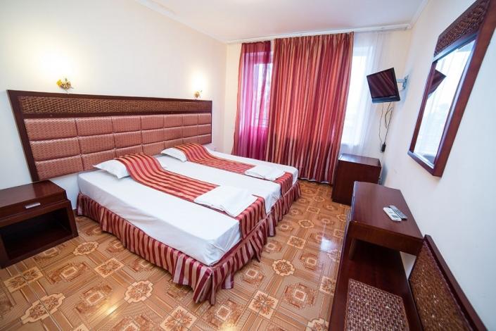Стандартный двухместный номер с балконом отеля Светлый путь Апсны