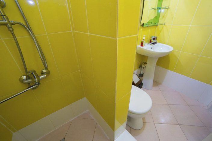 Туалетная комната Стандартного номера SVK Hotel