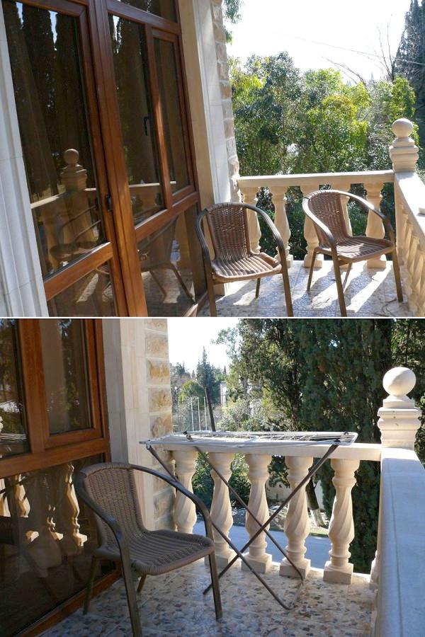 Балкон номера Люкс SVK Hotel