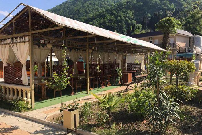 Кафе национальной кухни на территории SVK Hotel