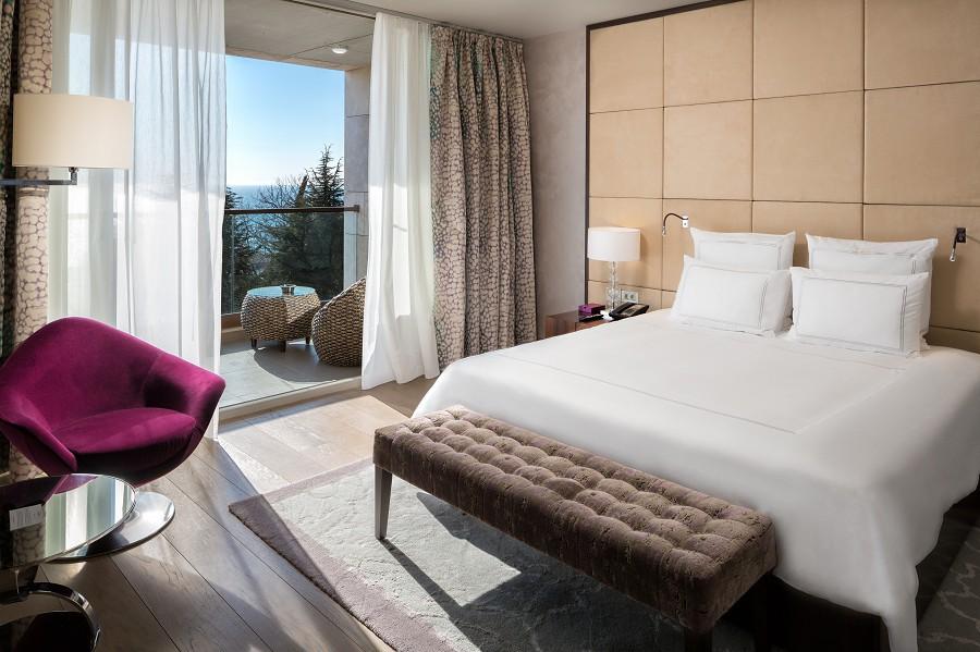 Signature Suite Bedroom Swissotel Resort Sochi Kamelia