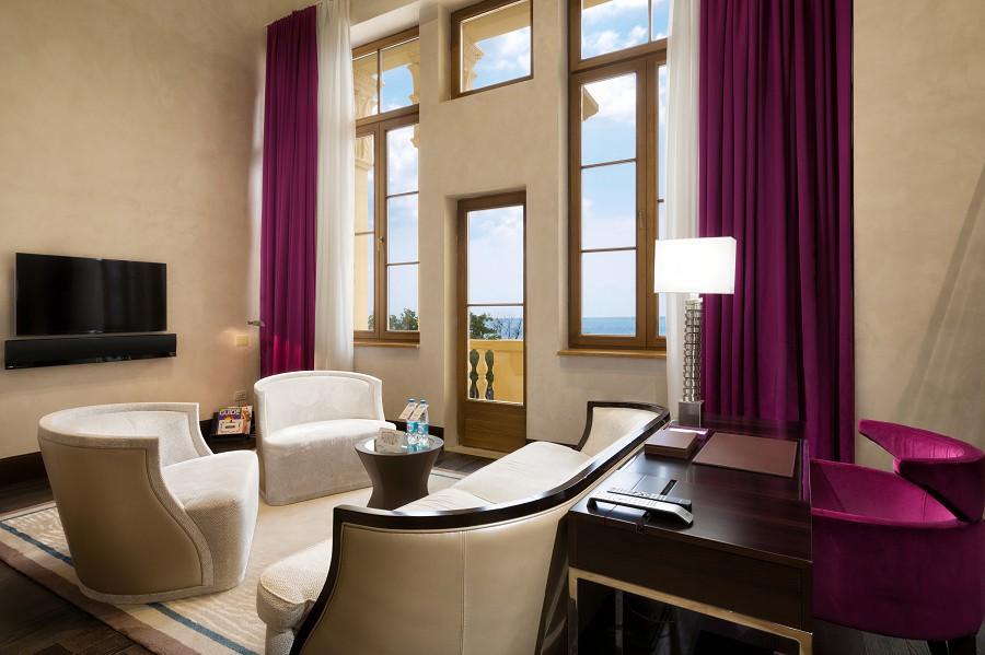 Duplex Suite Living Room Swissotel Resort Sochi Kamelia