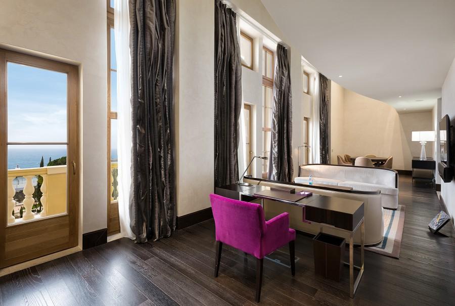 Grand Duplex Living Room Swissotel Resort Sochi Kamelia