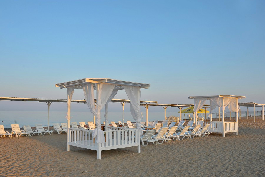 Пляж пансионата Танжер