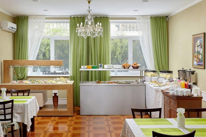 Ресторан ТЭС-отель Резорт & Спа