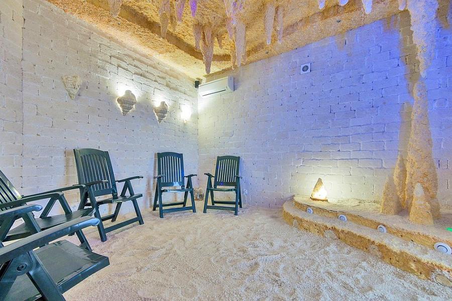 Соляная пещера в спа-центре ТЭС-отель