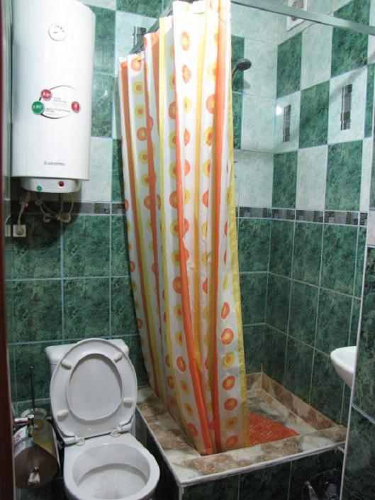 Туалетная комната в номере гостиницы Тихий Дон