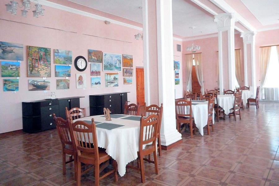 Ресторан пансионата Трехгорка