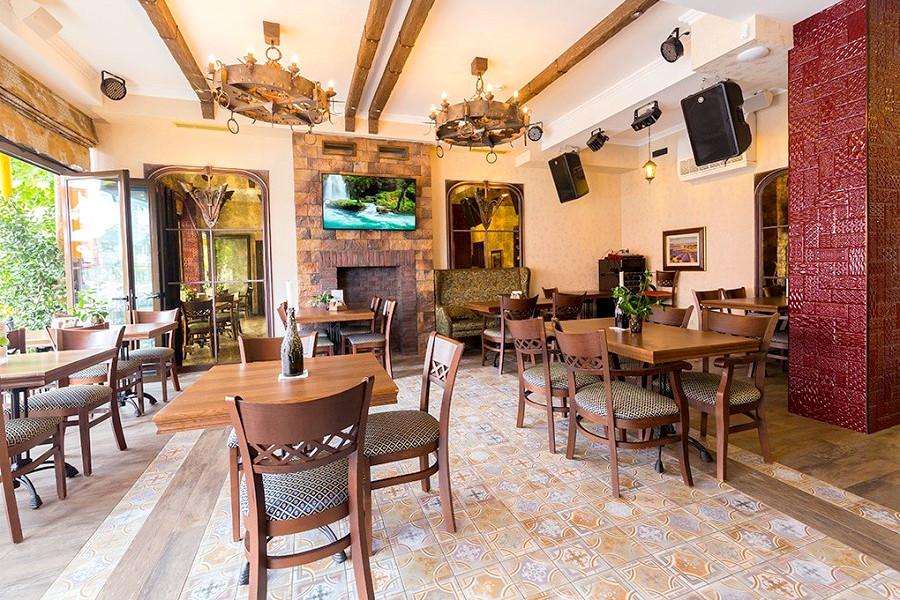 Ресторан отеля Три мушкетера