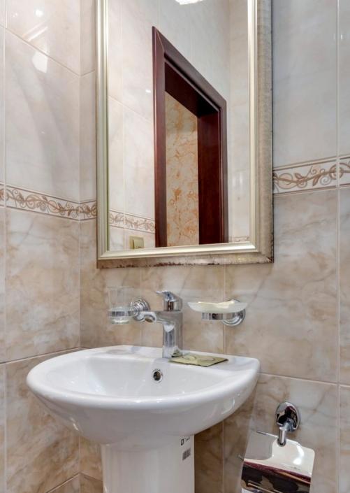 Туалетная комната номера Стандарт Мини в пансионате Царь Евпатор
