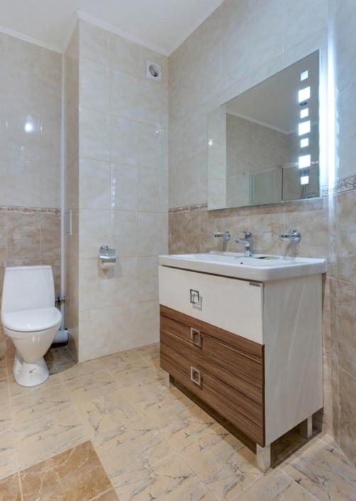 Туалетная комната номера Полулюкс в пансионате Царь Евпатор