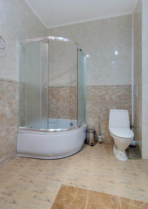 Туалетная комната номера Студия в пансионате Царь Евпатор
