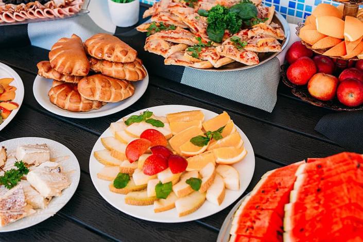 Промежуточное питание в пансионате Царь Евпатор