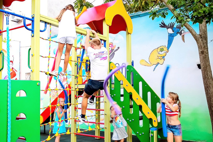 Детская площадка пансионата Царь Евпатор