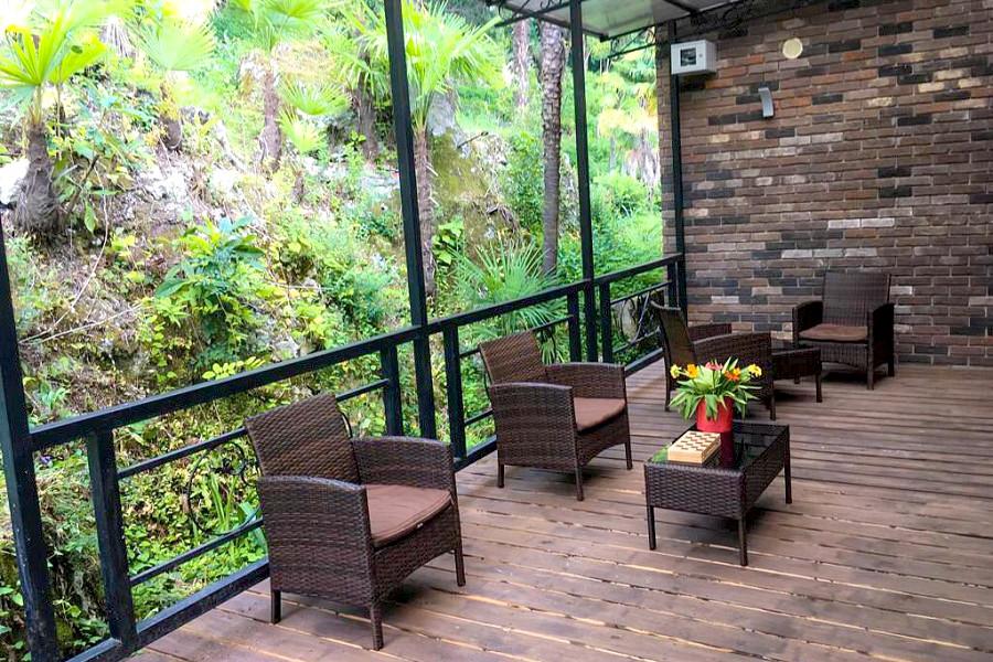 Комфорт двухместный с террасой в двухэтажном корпусе парк-отеля У монастыря