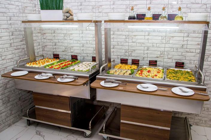 Ресторан пансионата Undersun Витязево
