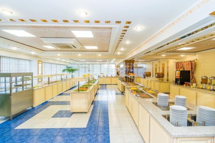 Ресторан пансионата Урал