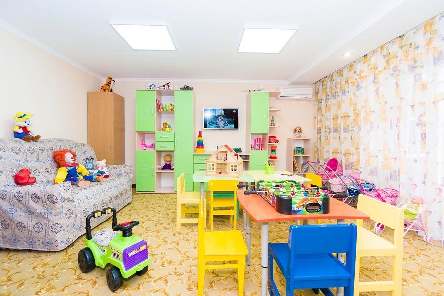 Детская комната пансионата Урал