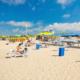 Пляж пансионата Урал