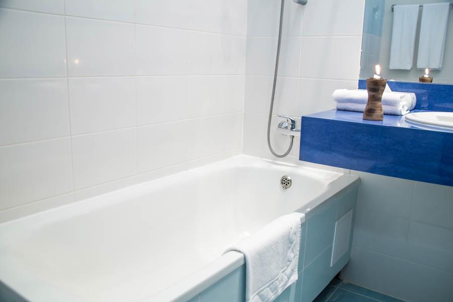 Туалетная комната номера Делюкс в Корпусе 3 санатория Утес