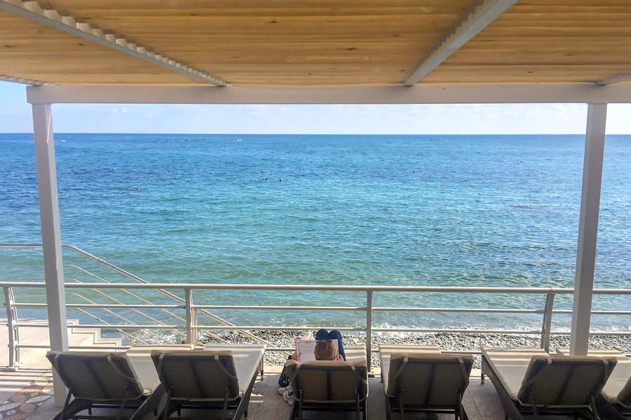 Пляжный комплекс санатория Утес