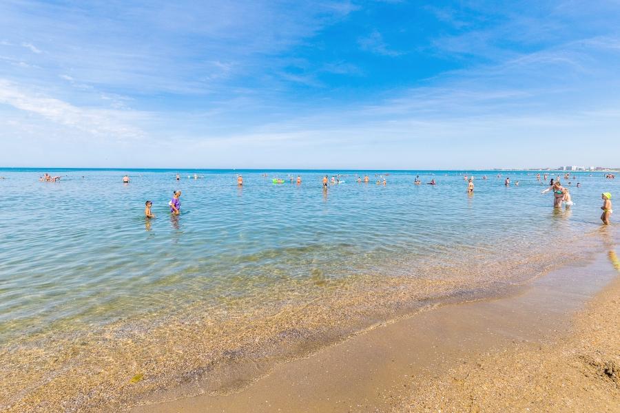 Пляж Джемете, Анапа