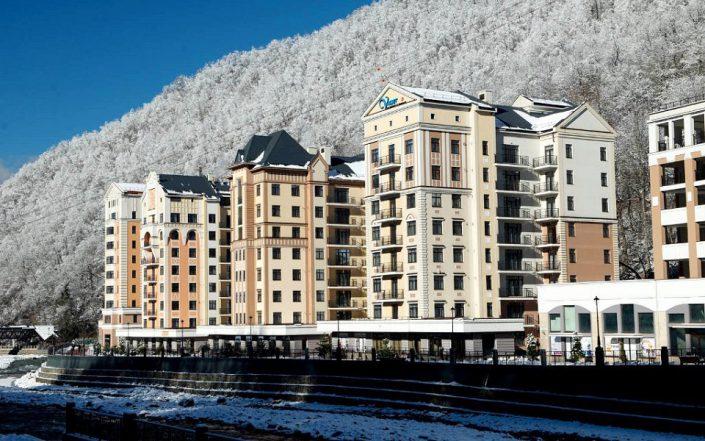 Valset Apartments by Azimut, Красная Поляна, Сочи
