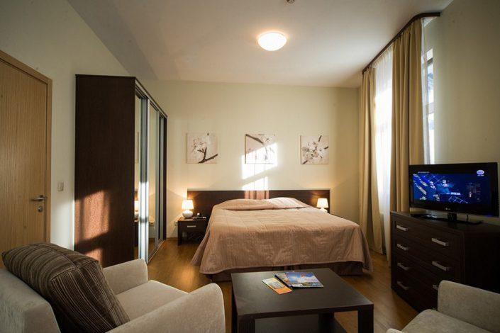 Апартаменты однокомнатные с кухней-гостиной Valset Apartments by Azimut