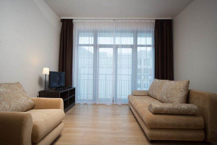 Апартаменты однокомнатные с отдельной кухней Valset Apartments by Azimut