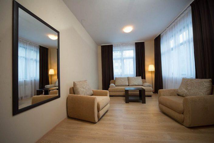 Апартаменты трехкомнатные с отдельной кухней Valset Apartments by Azimut