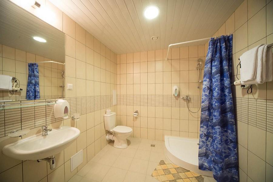 Туалетная комната номера Апартаменты-Студия Valset Apartments by Azimut