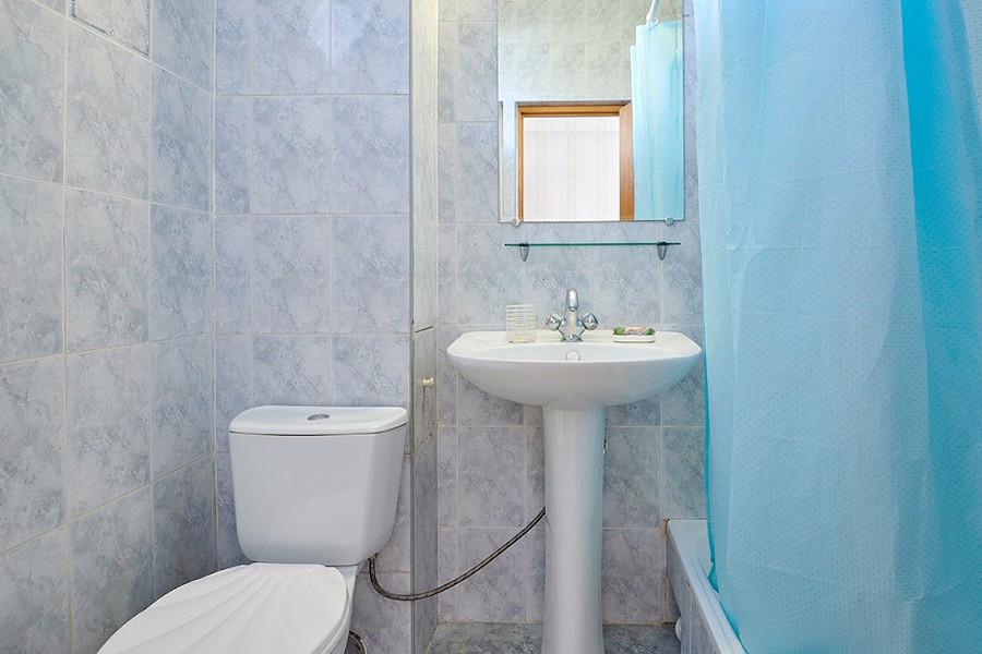 Туалетная комната Семейного номера гостиницы ВатерЛоо