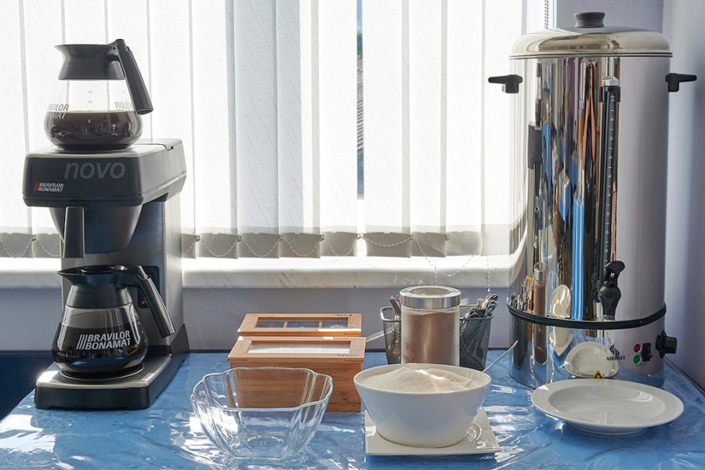 Кафе-столовая гостиницы ВатерЛоо