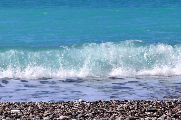 Черное море в нескольких минутах ходьбы от гостиницы ВатерЛоо