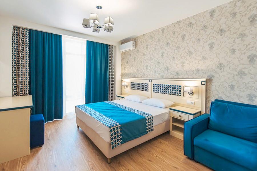 Стандарт двухместный с балконом в отеле Venera Resort