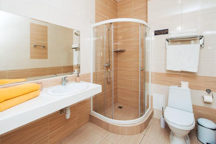Туалетная комната номера Студия двухместная в отеле Venera Resort