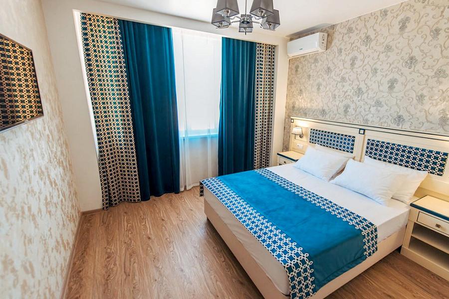 Люкс двухместный двухкомнатный отеля Venera Resort