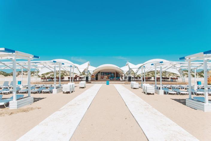 Пляжный комплекс отеля Venera Resort