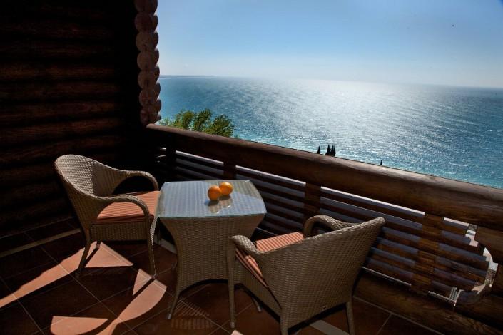 Балкон Стандартного номера отеля Вилла Аквавизи