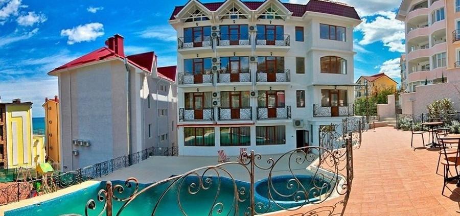 Отель Вилла Алина, Алушта, Крым